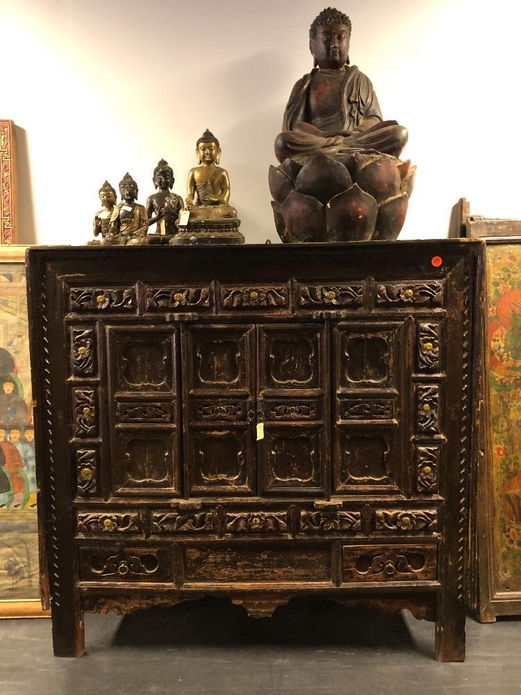 Chinese Antieke Tv Kast.Chinese Kast Antiek Prachtig Snijwerk Uniek Exemplaar Unieke